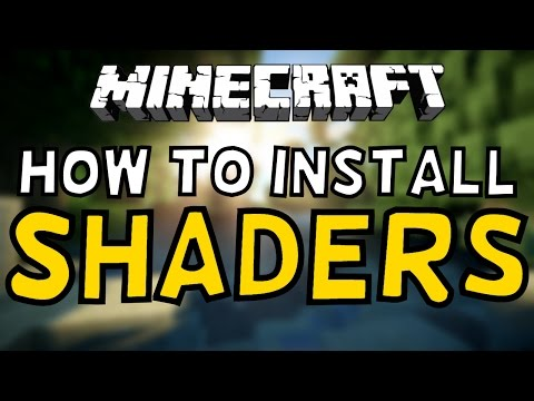 How To Install Shaders In Minecraft! 1.12+ (OPTIFINE)