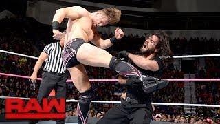 Seth Rollins, Dean Ambrose & AJ Styles vs. The Miz, Sheamus & Cesaro: Raw, Oct. 23, 2017