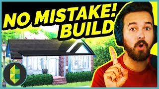 NO MISTAKES Build Challenge | The Sims 4