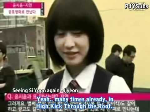 [eng Sub] 100512 Ytn Star Death Bell 2 - Park Jiyeon & Yoon Si Yoon video