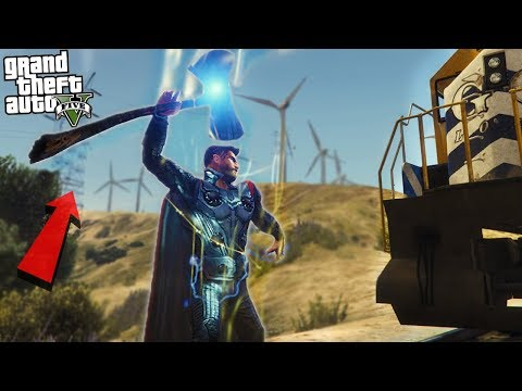 AVENGERS INFINITY WAR THOR w/ STORMBREAKER - GTA 5 Mods