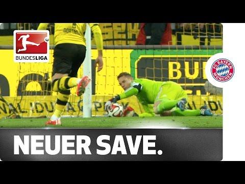Neuer's World-Class Save to Deny Reus' Brilliant Free Kick