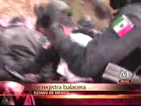 TIROTEO EN EDO DE MEXICO HIJO DEL RULAS DE ACAMBARO GUANAJUATO