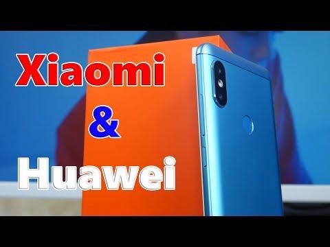 Как Xiaomi унижал Huawei или НЕТ? Xiaomi Redmi Note 5 & Huawei P20 Lite