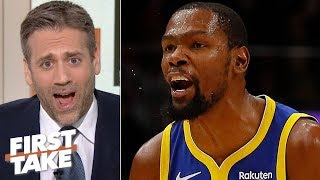 Max Kellerman doubts if Kevin Durant will ever be the same after Achilles injury | First Take