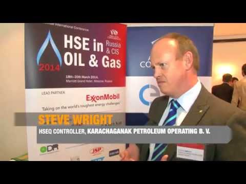 HSE in Oil and Gas 2014: Interview with Steven Wright, Karachaganak Petroleum Operating B.V.