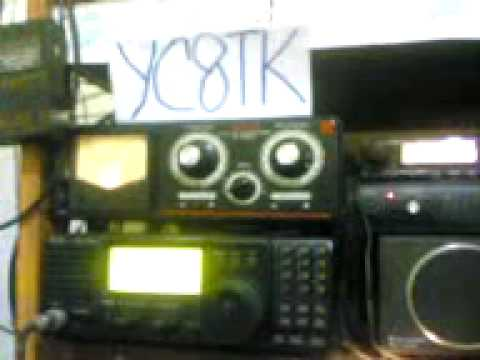 YC8TK AND HL5NLQ  AND MY RADIO DX ICOM IC 718