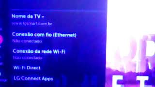 A Televisão da LG Está Com Problema no WI-FI