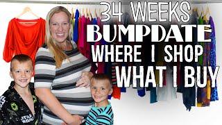 Week 34 Bumpdate - Baby Name Narrowed Down!