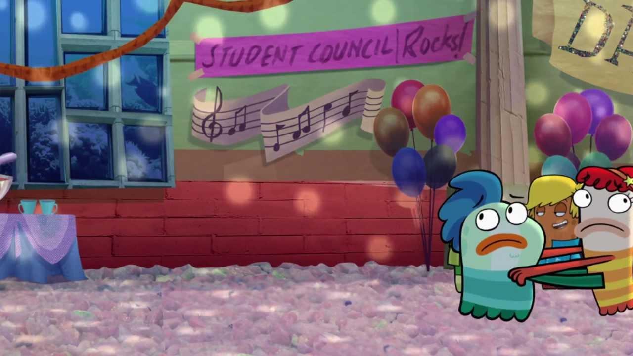 Fish hooks songs rainbows in my tummy youtube for Fish hooks season 3 episode 16