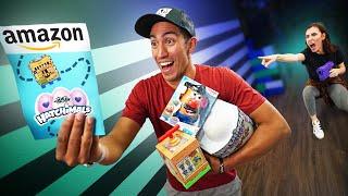 NERF Scavenger Hunt Challenge! Amazon Top 10 Toys!