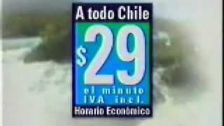 Comercial dias 123 de Entel (1999)