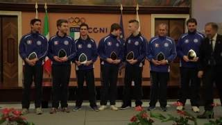 Premiazioni Azzurri FIPSAS medagliati 2015 - La carica dei 101