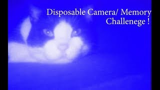 Disposable Camera/Memory Challenge !