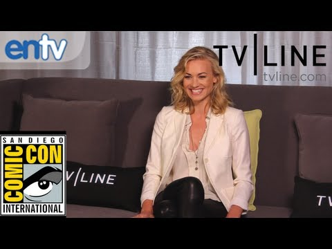 Yvonne Strahovski on &quot;Dexter&quot; Season 7, A &quot;Chuck&quot; Reunion at Comic-Con &amp; Frankenstein