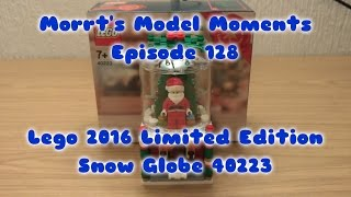 Lego Limited Edition 2016 Snow Globe 40223 Model Moment Episode 128
