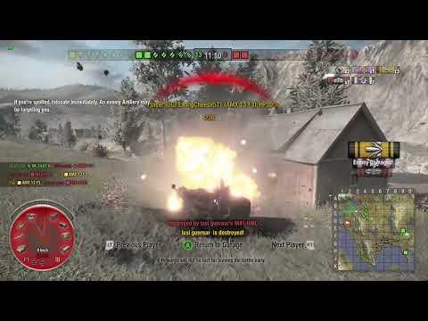 World of Tanks Xbox one AMX 13 F3 AM 3 Kills
