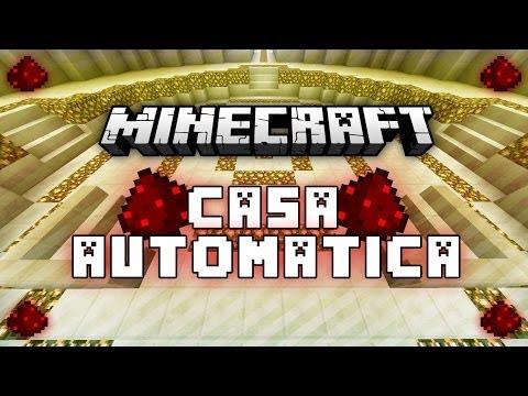 CASA AUTOMÁTICA DE REDSTONE | MINECRAFT 1.7 [DESCARGA]