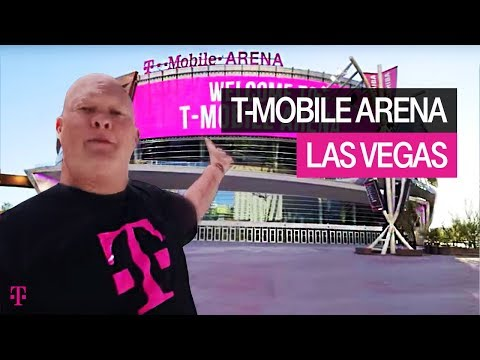 T-Mobile|Vegas Arena First Look