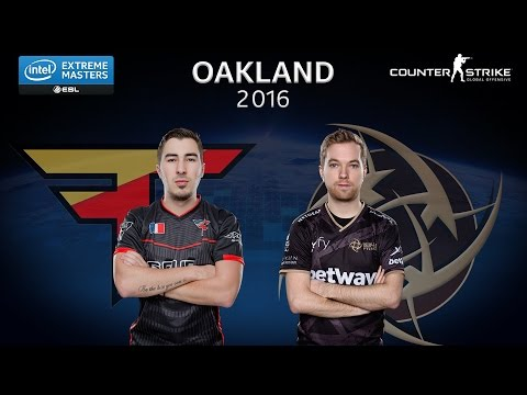 CS:GO - FaZe vs. NiP [Overpass] - Group B - IEM Oakland 2016
