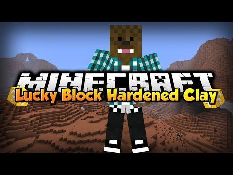 Minecraft: Lucky Block Hardened Clay w/ xSlayder [Ep.1]
