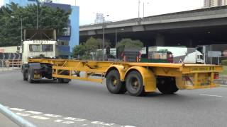 TRUCKS IN HONG KONG FEBRUARY 2014