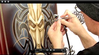 Airbrushing Tribal & Tiki Graphics w/ Steve Vandemon