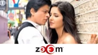 Shahrukh downplays kissing scene with Katrina