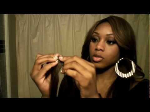 How to make a closure for your weave