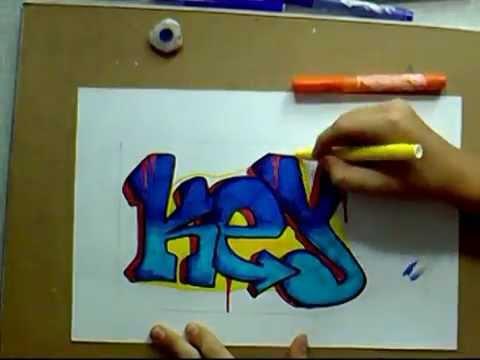 Уроки граффити для начинающих - видео