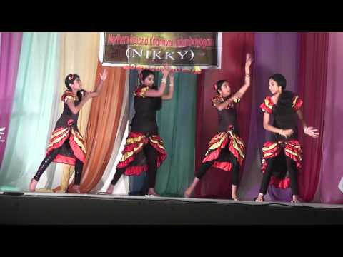 Bollywood Indian Fusion Song Darling Senorita Appangalembadum Dance By Derry Rockstars In Belfast video