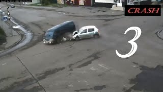 Russian Car Crash Compilation # 3 September 2015
