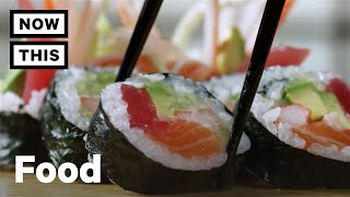 How To Eat Sushi Correctly | Cuisine Code | NowThis