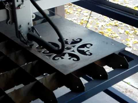 Precision Plasma CNC Cutting Table