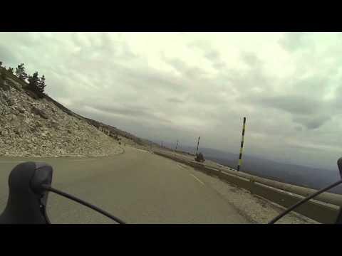 Descente Mont Ventoux (Gopro)