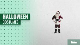 Halco Men Halloween Costumes [2018]: Exquisite Dark Velvet Santa Suit Adult Costume - X-Large