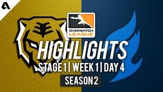 Seoul Dynasty vs Dallas Fuel   Overwatch League S2 Highlights - Stage 1 Week 1 Day 4
