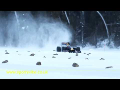 Red Bull's F1 on Ice with Sébastien Buemi