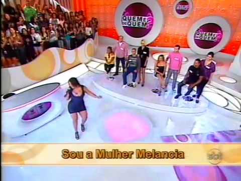 Andressa Soares  Mulher Melancia    Velocidade 6 Programa E