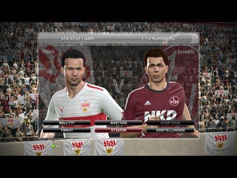 Bundesliga Prognose 10.Spieltag VfB Stuttgart 1:1  1.FC Nürnberg 25.10.13 20:30 [PES 14 PROGNOSE]
