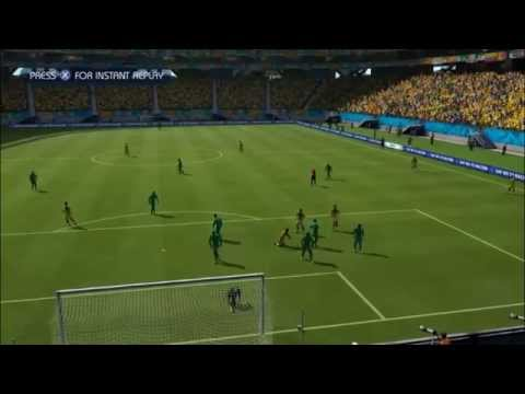 COLOMBIA - IVORY COAST | FIFA World Cup 2014 (All Goals Highlights HD)