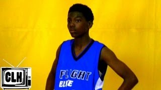 7th Grader Elijah Hardy HAS THE BALL ON A STRING - Class of 2018 - X Factor Invitational
