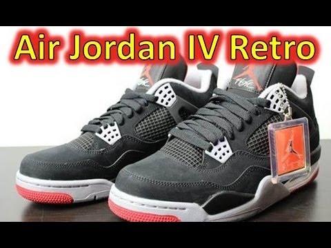 Air Jordan Bred 4 Retro - Review + On Feet