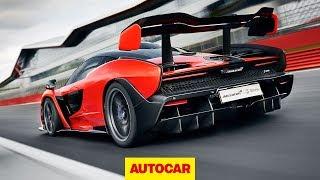 McLaren Senna driven | 789bhp hypercar on track at Silverstone | Autocar