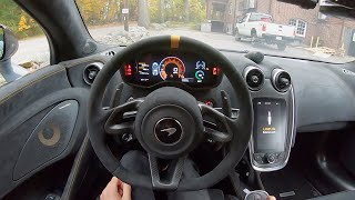 2019 McLaren 600LT - POV Test Drive by Tedward (Binaural Audio)