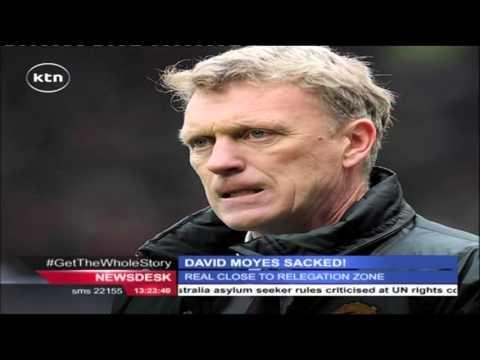 David Moyes sacked as manager  Real Sociedad