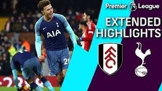 Fulham v. Tottenham PREMIER LEAGUE EXTENDED HIGHLIGHTS 12019 NBC Sports
