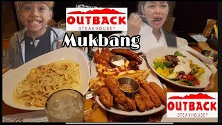 STEAK HOUSE // OUTBACK STEAKHOUSE MUKBANG  FEATURING  ANNE KOREA //MUKBANG & STORYTELLING