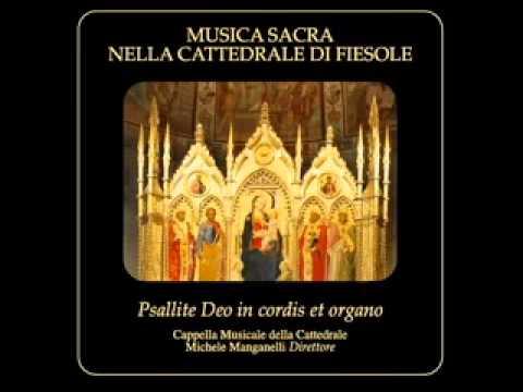 Ecce sacerdos magnus – Michele Manganelli – CD Cappella Musicale Fiesole