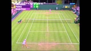 Wimbledon 2005 R1 - Mary Pierce vs. Lucie Safarova